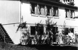 """Nyhuset"" på Oslo Godtemplarungdomslags feriehjem Kirkevik,"