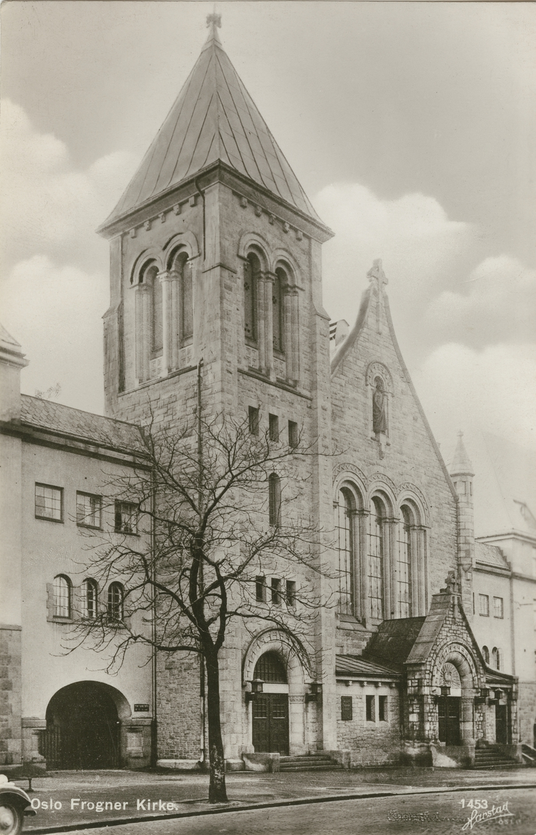 Frogner kirke i Oslo [Fotografi]