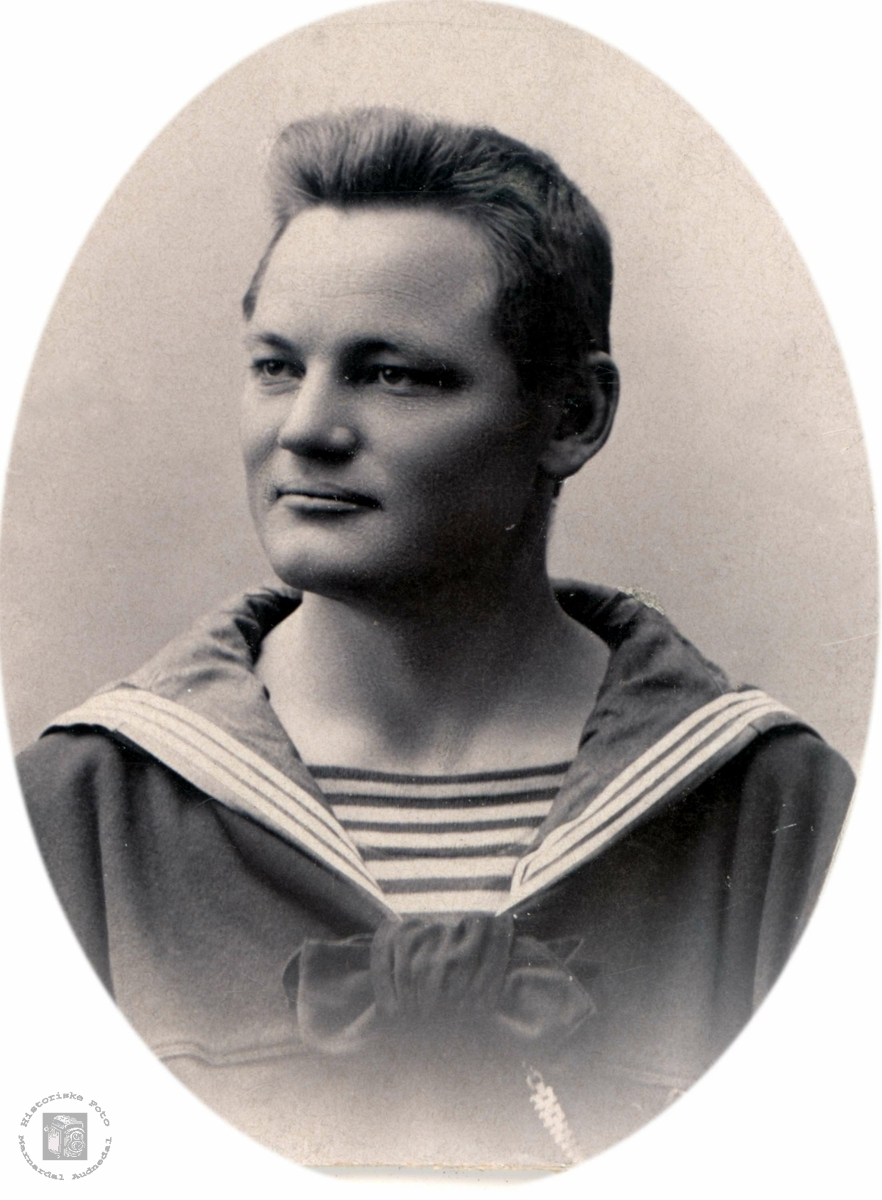 Portrett av Ole Andreas Solberg fra Bjelland.