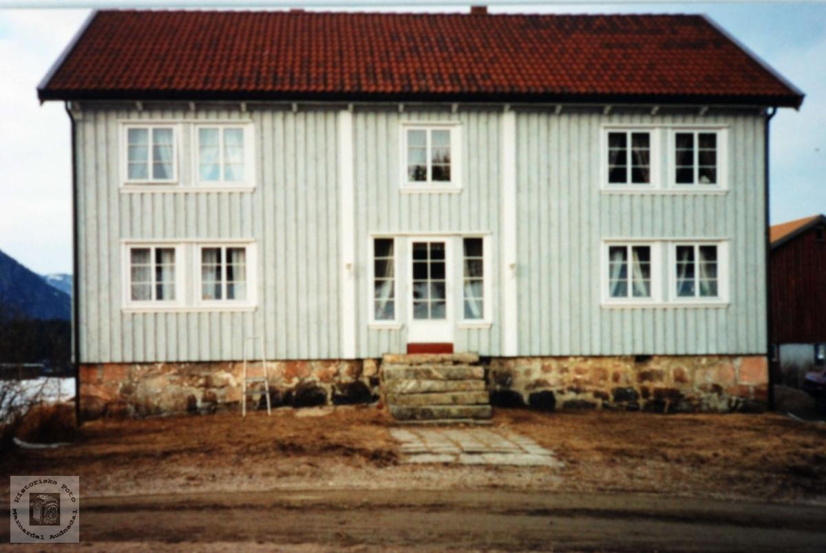 Heimen på Refsnes. Grindheim Audnedal.