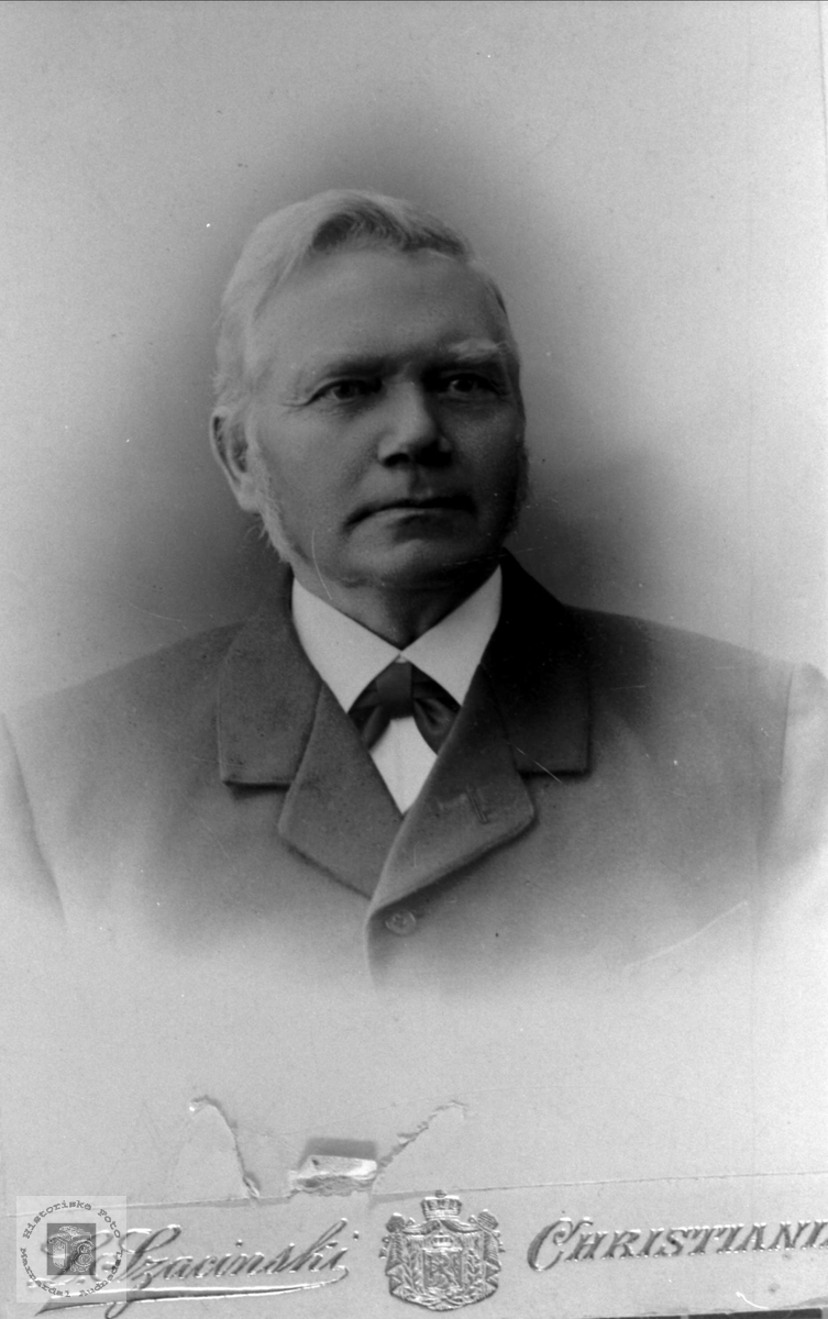Portrett av Thore Torkildson Foss, Bjelland.