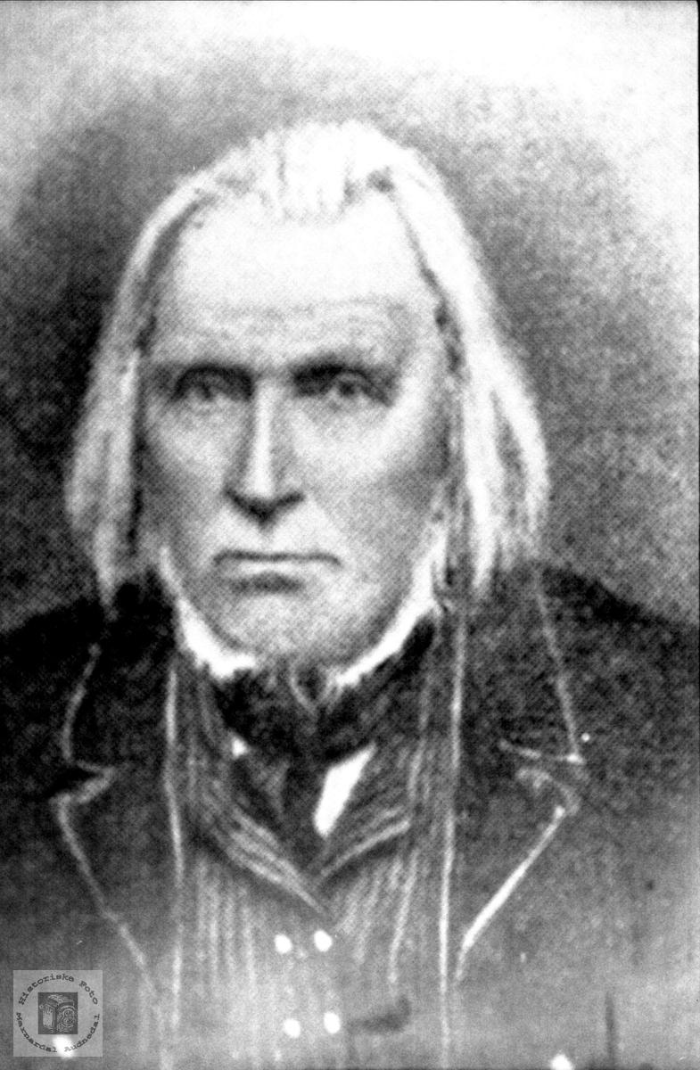 Portrett av Amund B. Birkeland, Laudal.