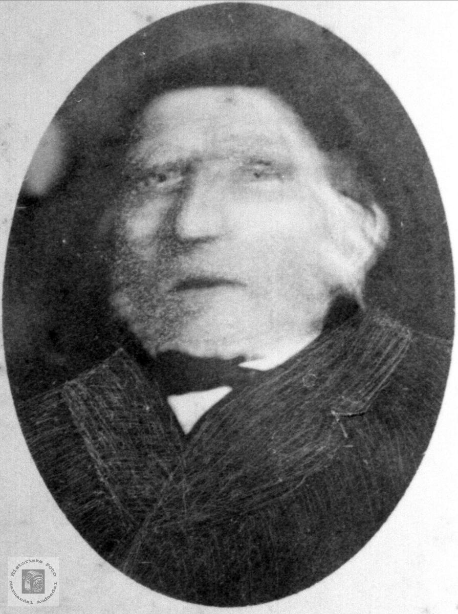 Portrett av Ole Stiansen Fidjestøl, Øyslebø.
