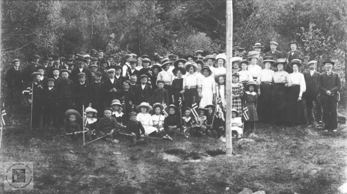 17. mai på Breland i 1913