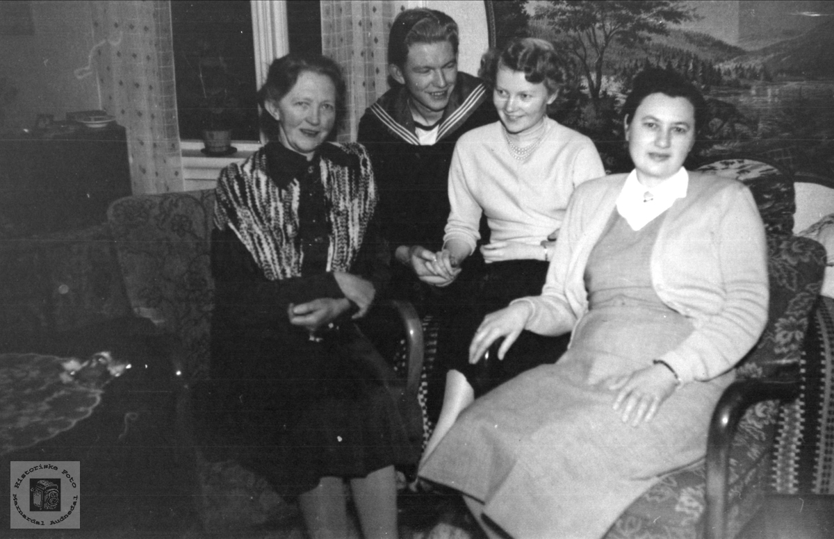 Familiegruppe Grosås, Øyslebø.