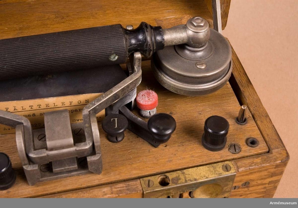 """Grupp H I. En speciell typ av """"telefonklyka"""" som återkommer i fm/1927."""