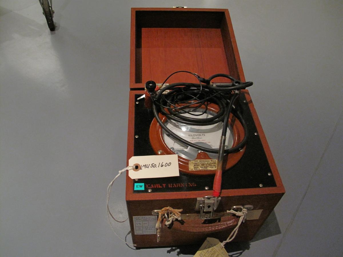 Kalibreringsinstrument. Utstilling 1 etg. K/V seksjonen