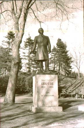 Landskap - Statuen av Egil Eide.