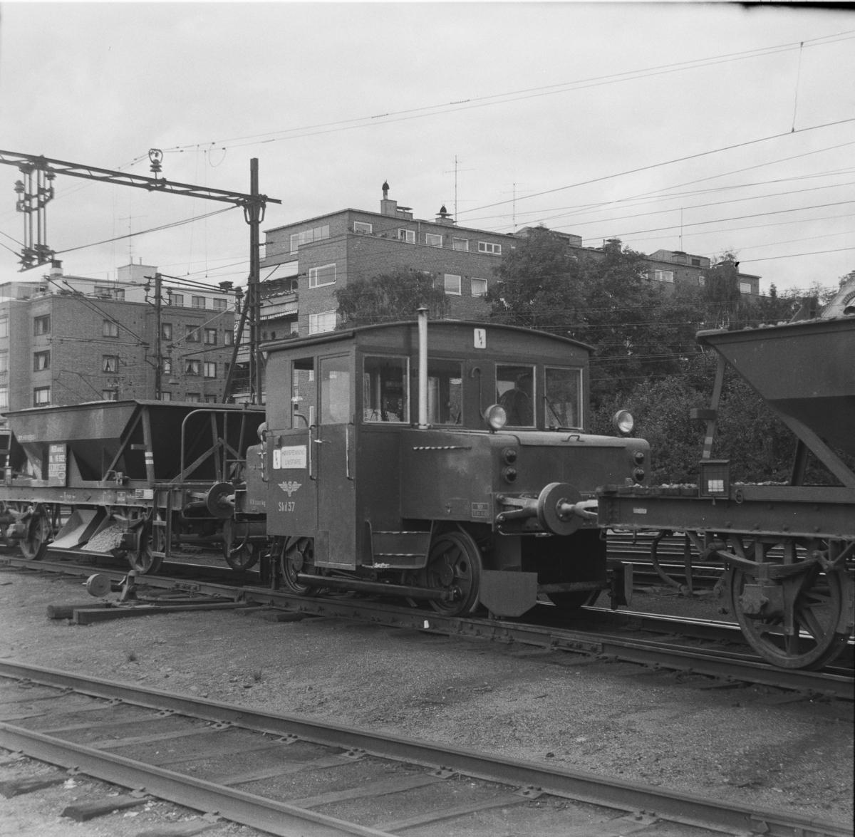 Skiftetraktor type 206 på Filipstad