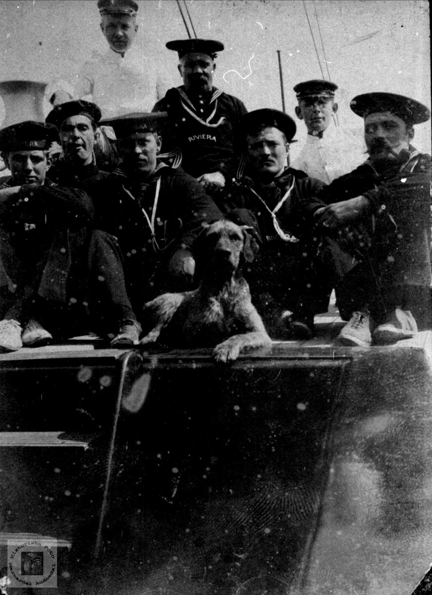 Marinebesetning. 1905.