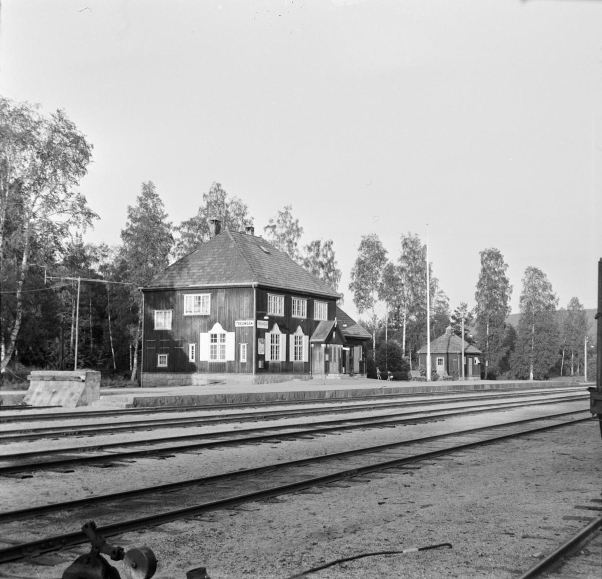 Treungen stasjon på Treungenbanen.