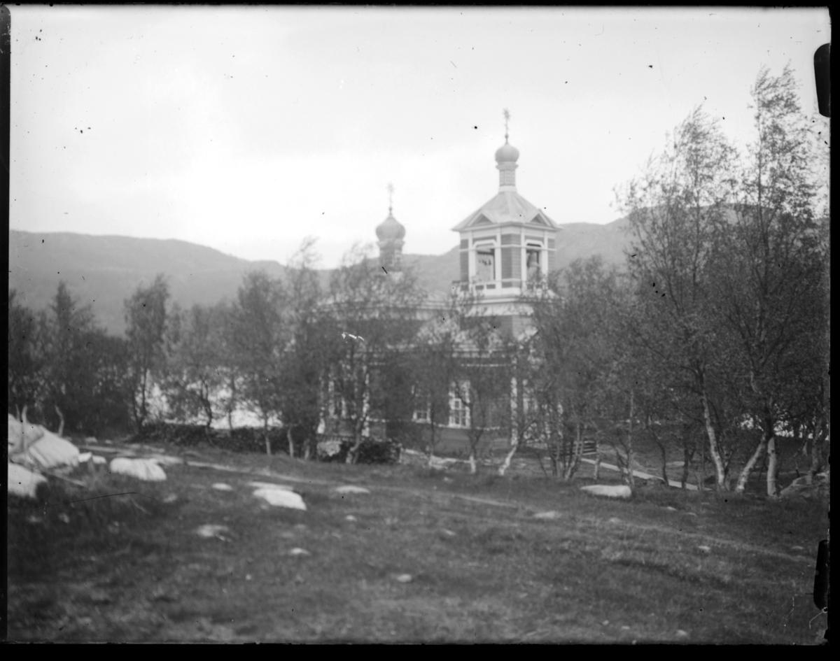 Det gresk-ortodokse kirka i Boris Gleb, tatt i bruk i 1874