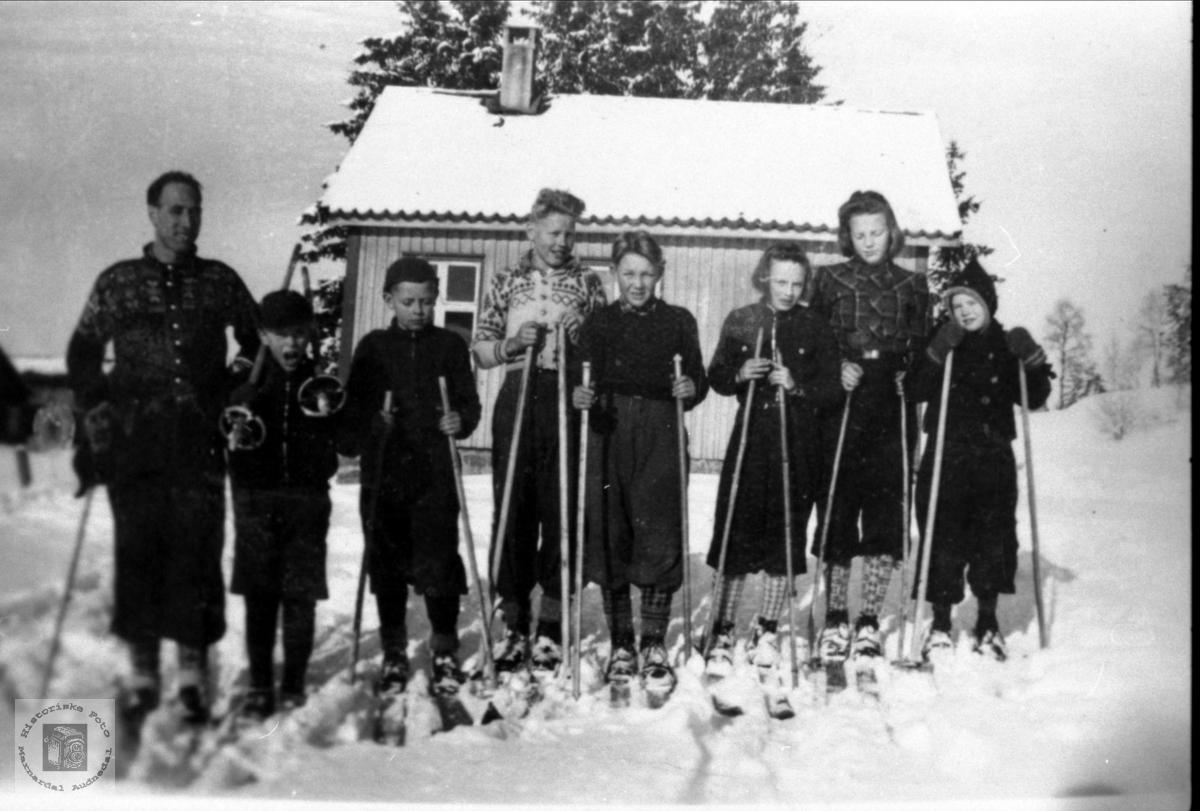 Myran skule på skitur