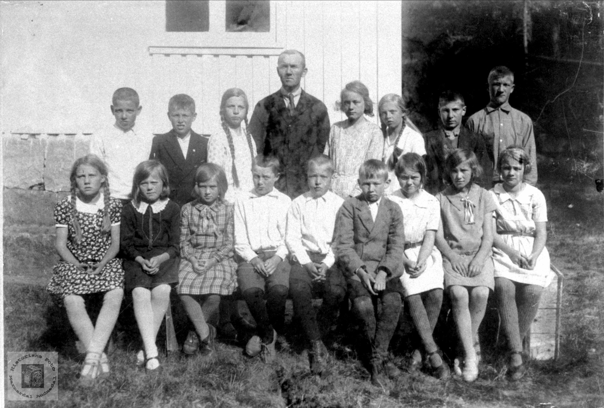 Skoleborn Brusletta skole 1931