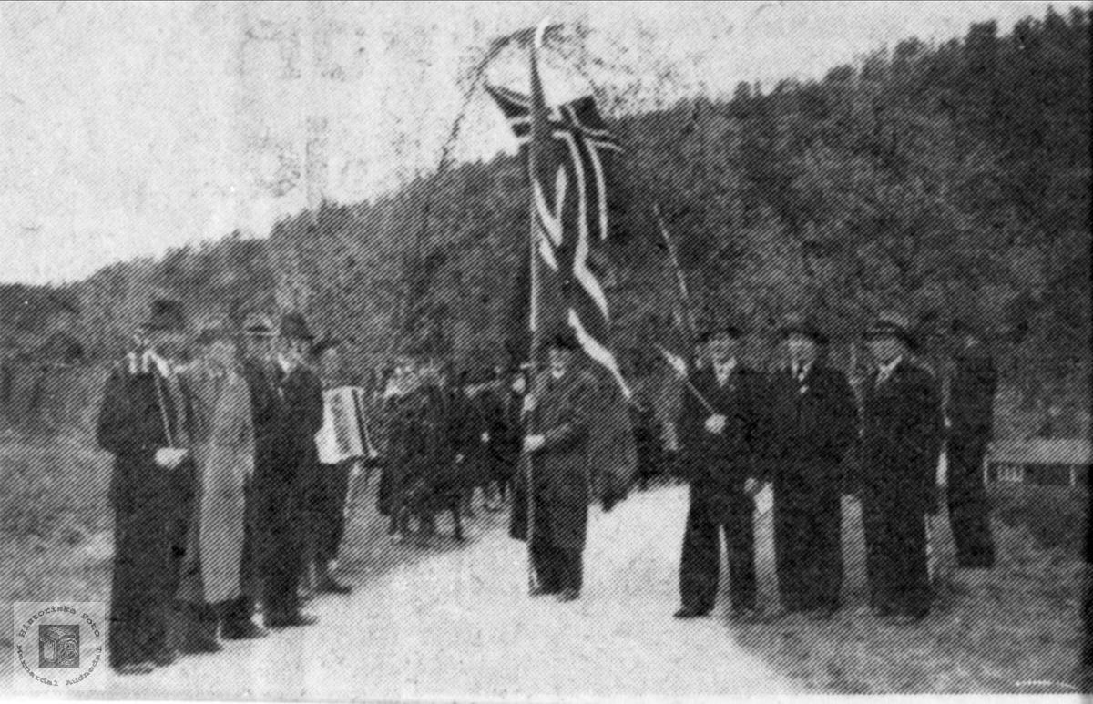 9. mai 1945. Ei markering av fanger som kjem heim?