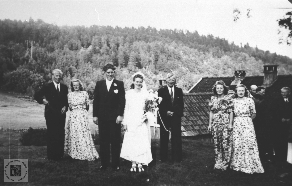 Bryllup. Eikehaugen.