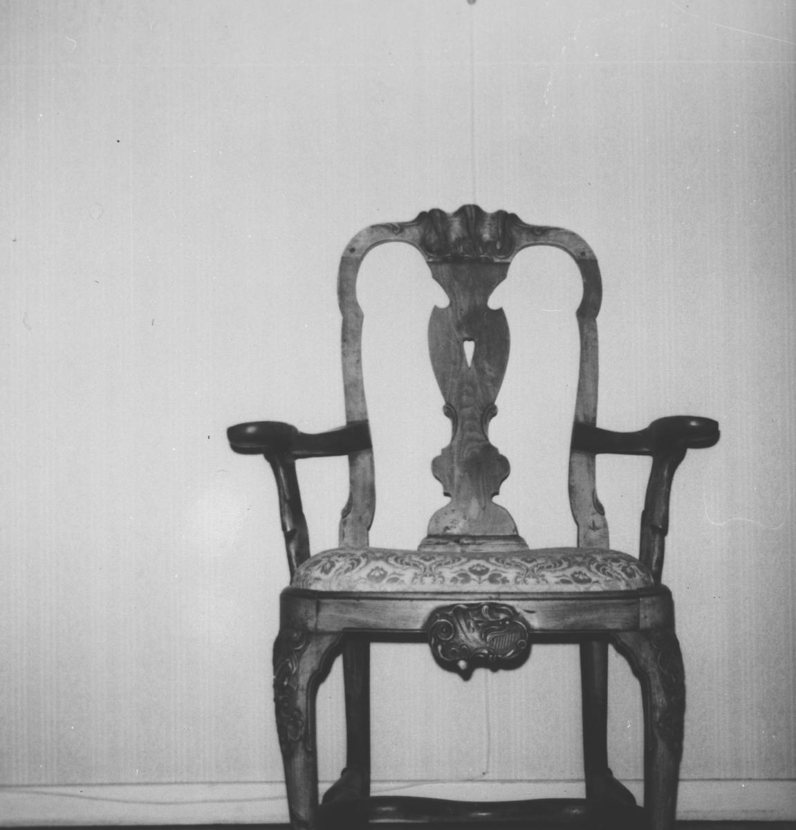 Stol, tilhørt Hans Clemetsen Hansen 1771 - 1835.