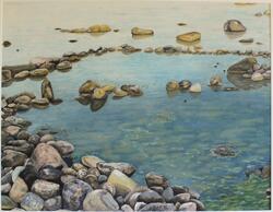 Strand, Slite [Målning]
