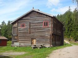 Våningshus fra Østre Vikersund