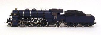 Tyskt ånglok S 3/6 Nr:3618, modell i skala 1:87.  Modell/Fabrikat/typ: Ho