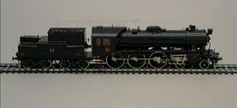 Ånglok A8 Nr:1807, modell i skala 1:87  Modell/Fabrikat/typ: Ho