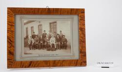 Personale ved Den Kongelige Mynt fotografert i 1900.