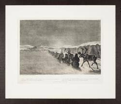 Crossing the Biggi Javri [litografi på papir, kopi]
