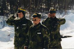 Från vänster Christer Korsell, Ing 2, Lars Göransson, Ing 2