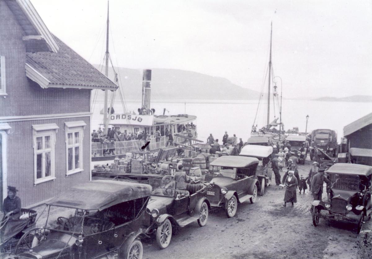 Årnes brygge ca. 1920