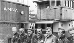 Krigsveteraner hjemkomst, Ørlandet