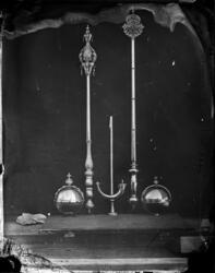 Septere, salvingshorn og riksepler. De norske kronregaliene.