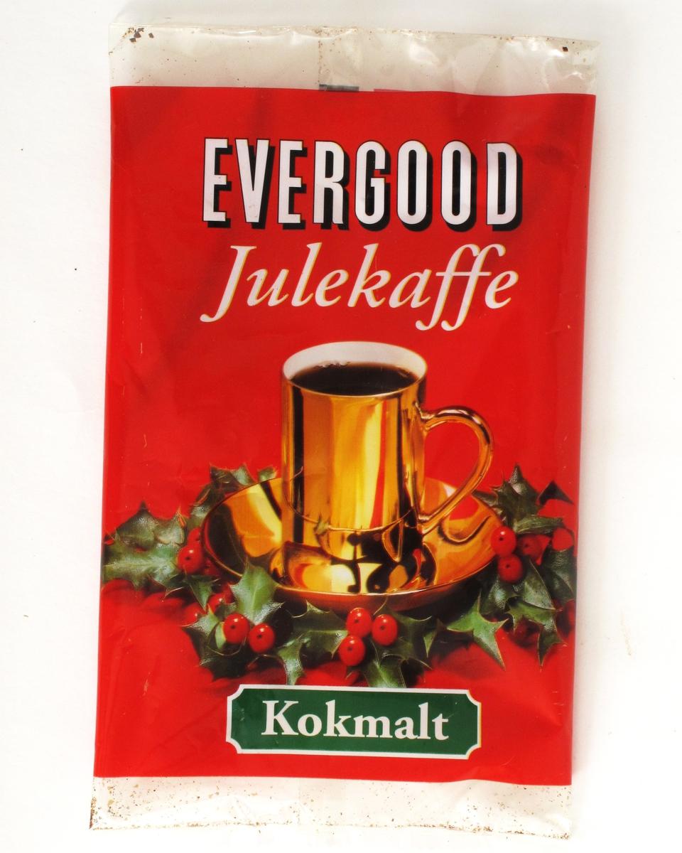 Gullkopp med kaffe i en krans av kristorn