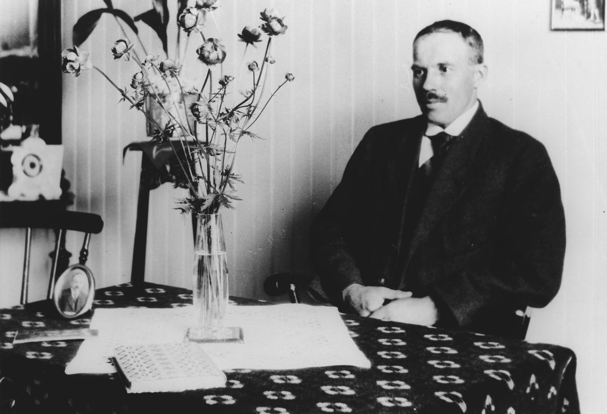 Maskinmester L.M.Larsen i Funnefoss.