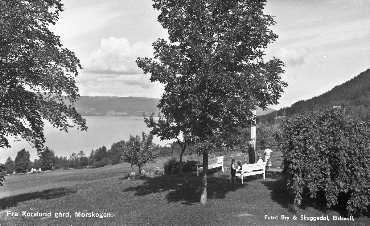 Korslund gård, Morskogen.