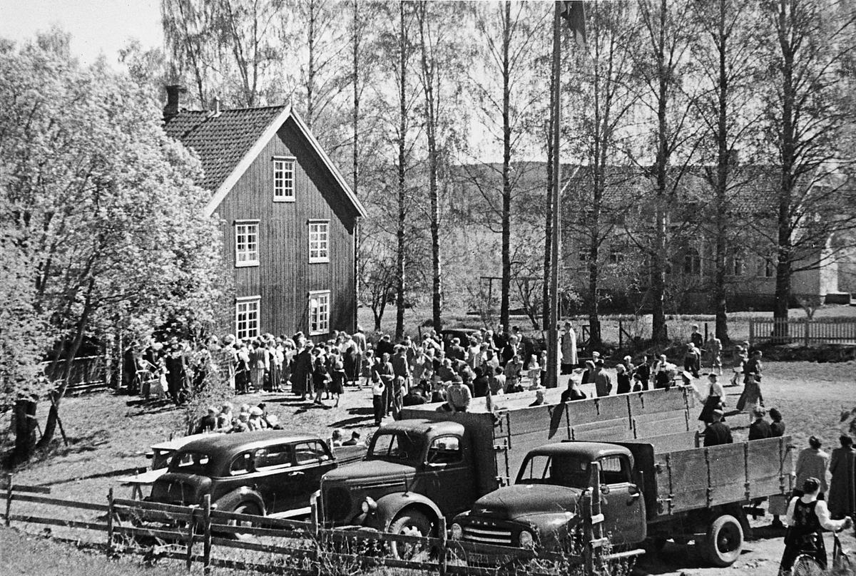 Fløygir i Feiring, 17. mai 1952.