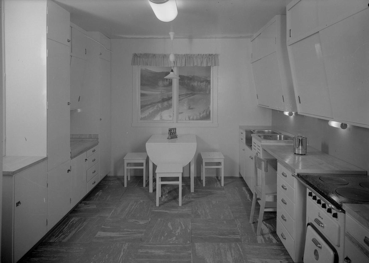 Jubileumsutstillingen i Mosjøen. Kjøkkenutstilling