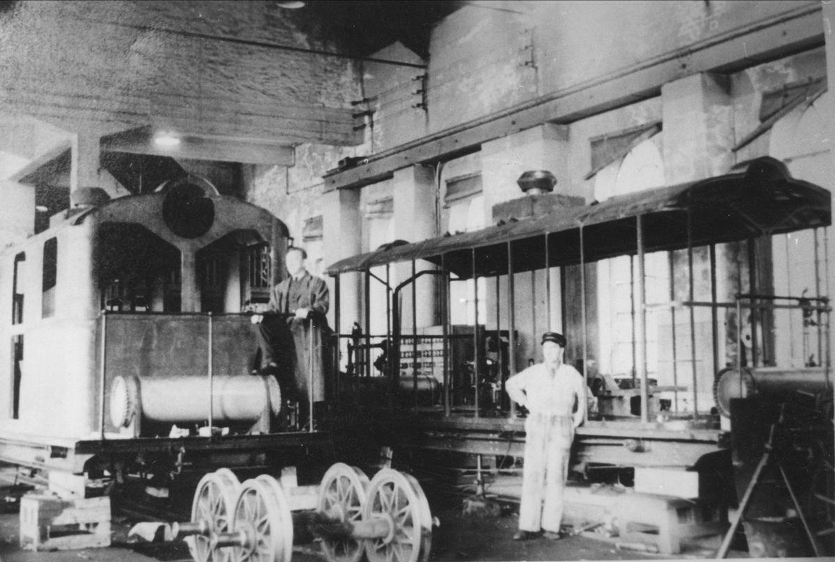 Gjenoppbygging av ASEA lokomotiv nr. 7 og 8.