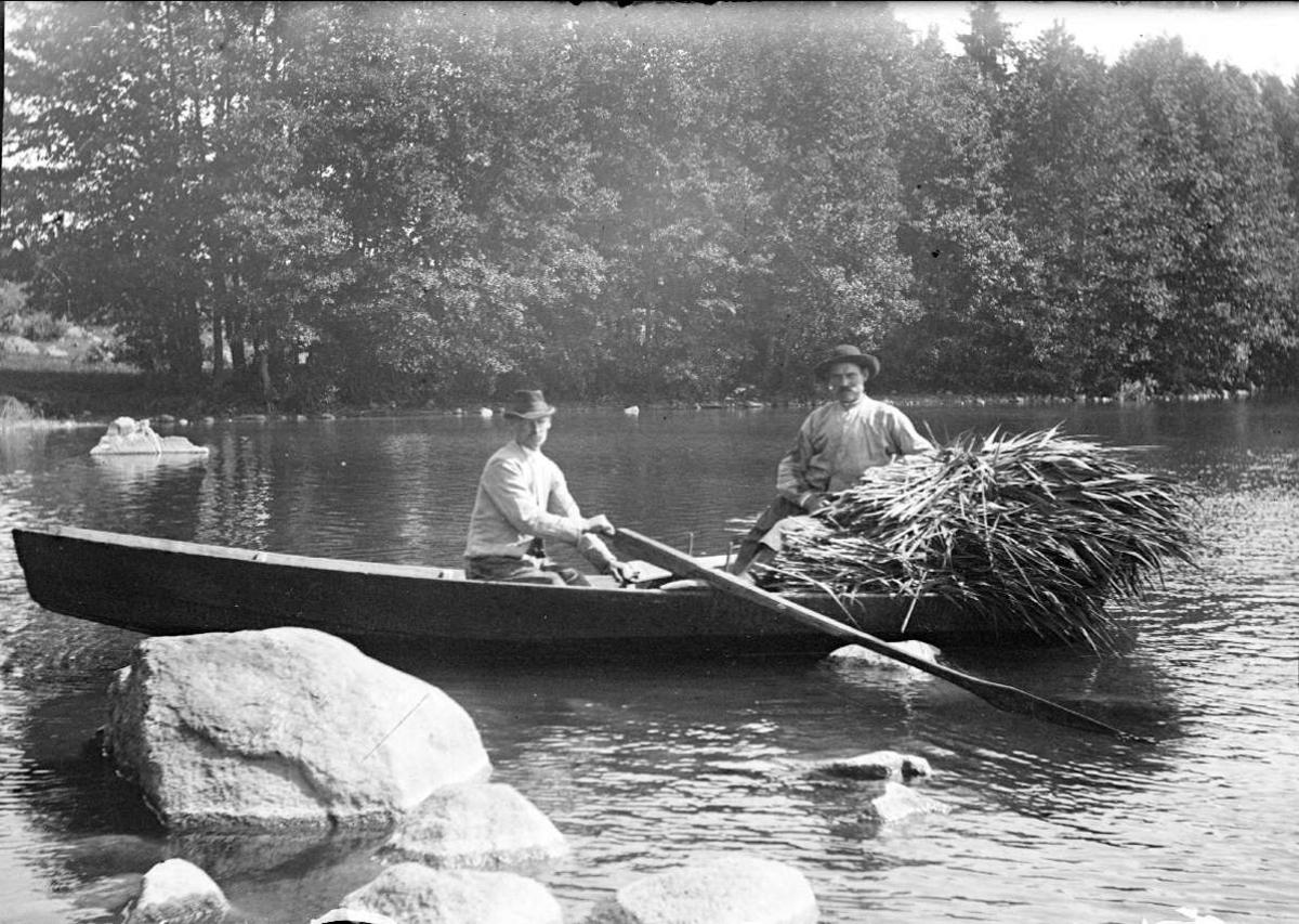 Vasstäkt på Långsjön, Björklinge socken, Uppland, före 1929