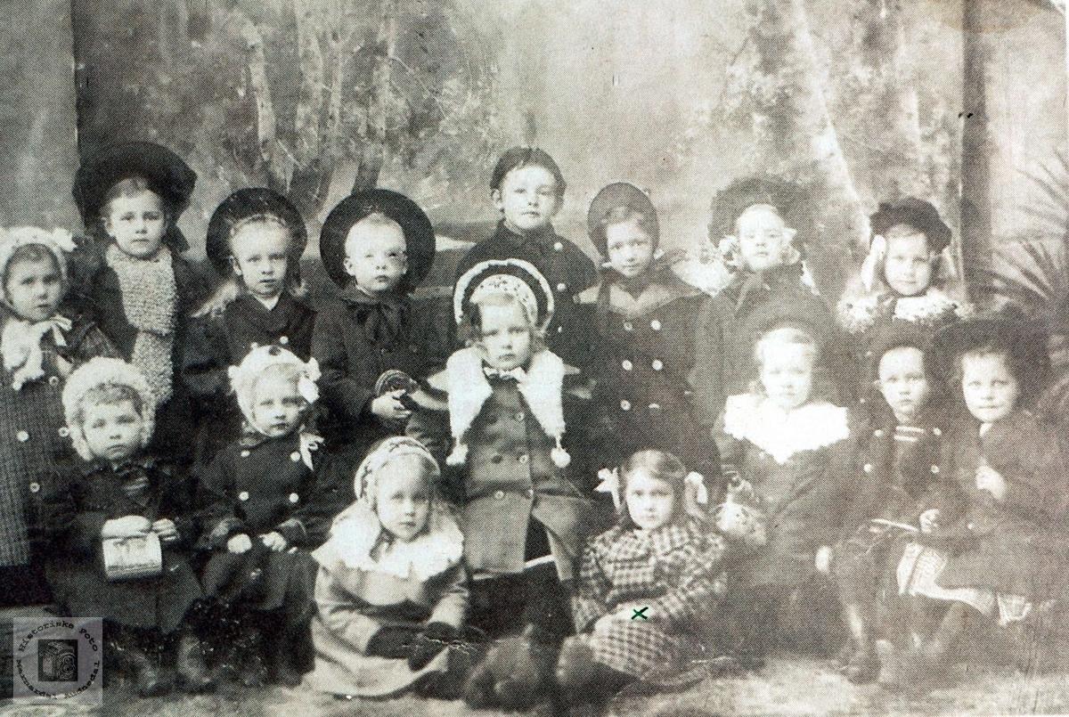 Barnehage i Reymertgården i Mandal.