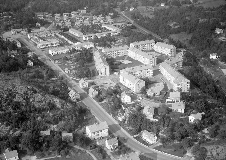 Stadsdelen Bleket, Uddevalla 1960