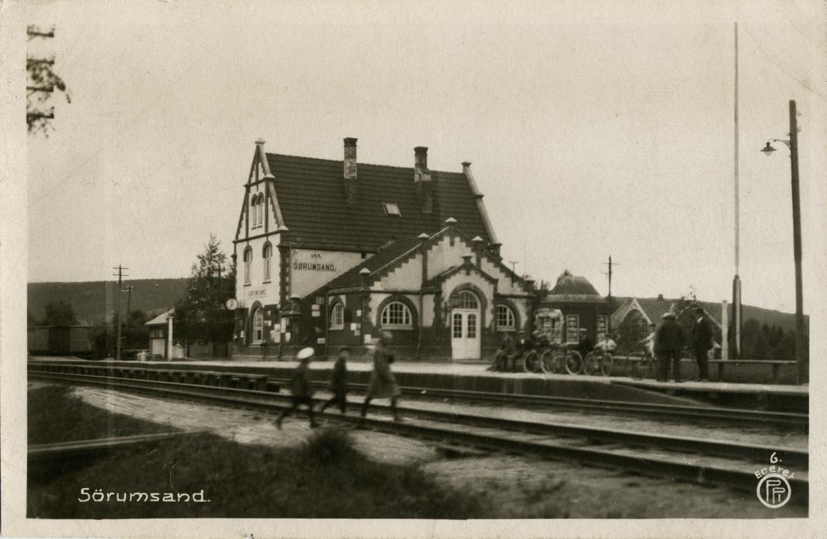 Sørumsand stasjon.