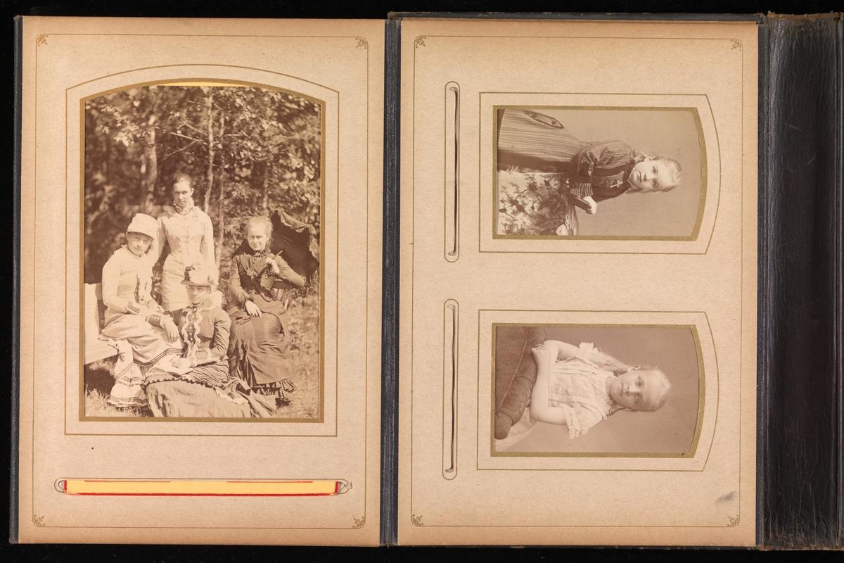 Album 20 fra Mathiesen-familien på Linderud gård.