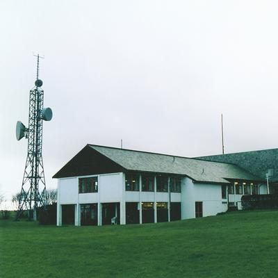 Radio - og kringkastingsstasjoner Rogaland radio mottakerstasjon Skjæveland eksteriør. Foto/Photo
