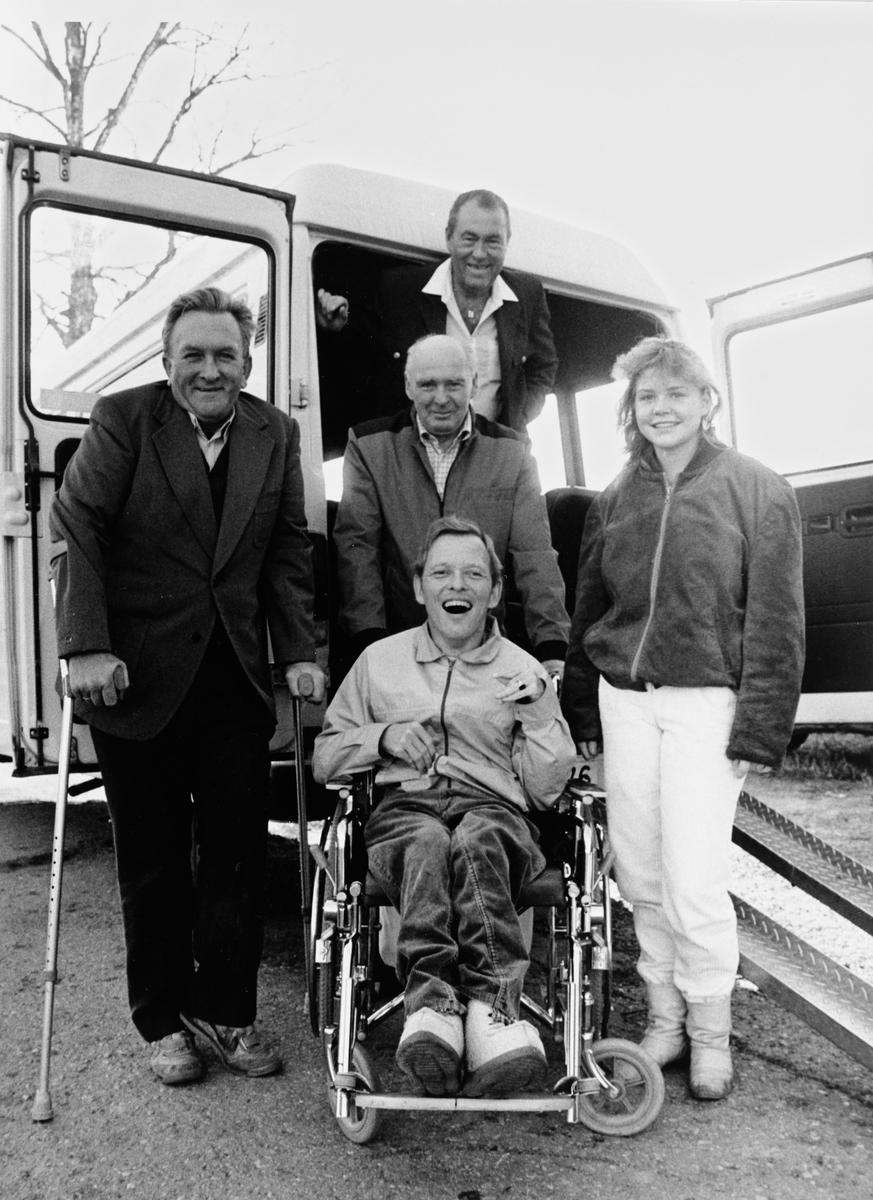 Nittedal handikaplag viser tilgjengelighet for bevegelseshemmede.