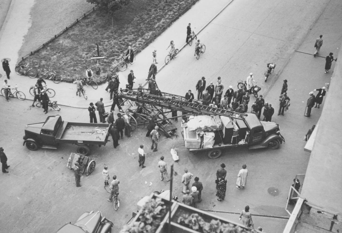 Bilulykke i Bogstadveien.