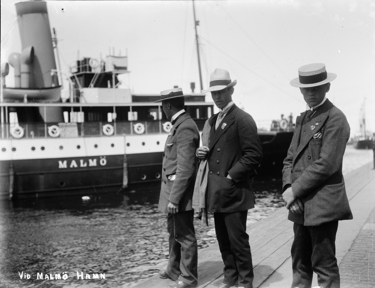 """Altuna Skytteförenings resa till Malmö: """"Vid Malmö hamn"""""""