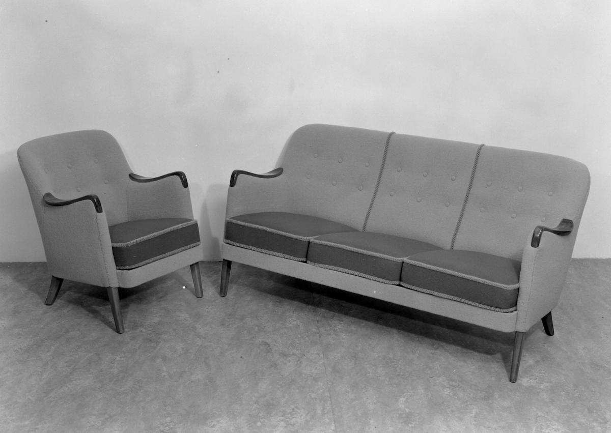 Sofa og lenestol