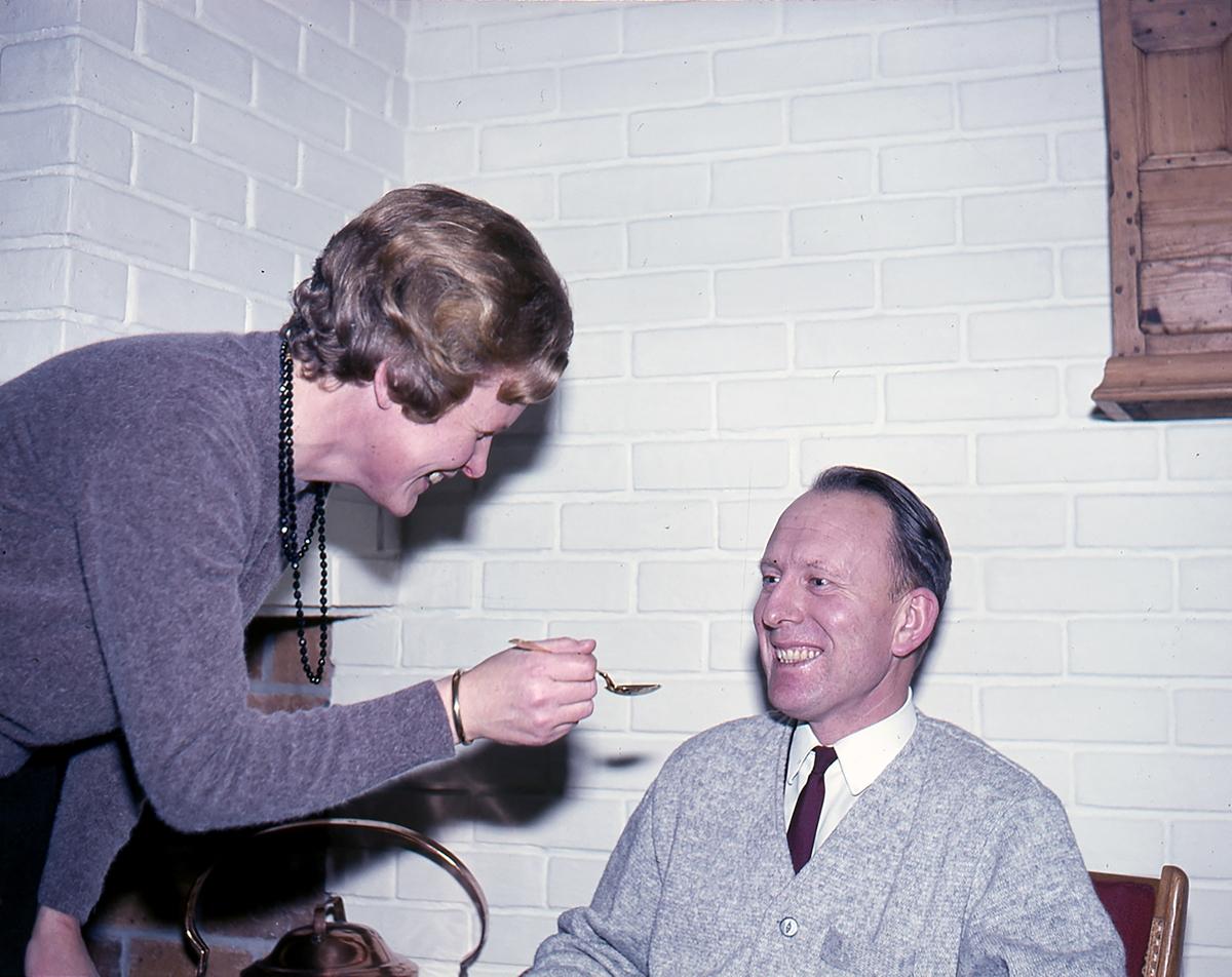 Ingunn Børke med ektemann