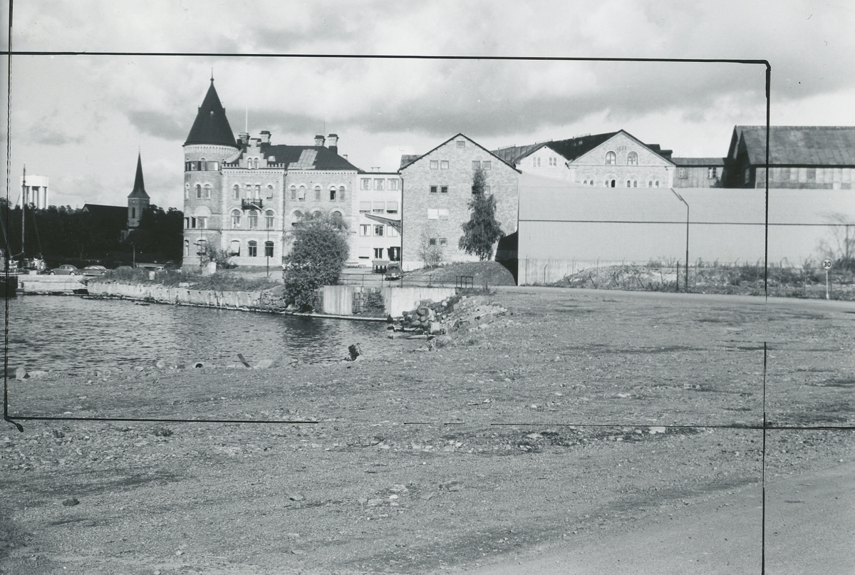 Exeriör. Huvudkontoret för Gustavsbergs Fabriker AB.