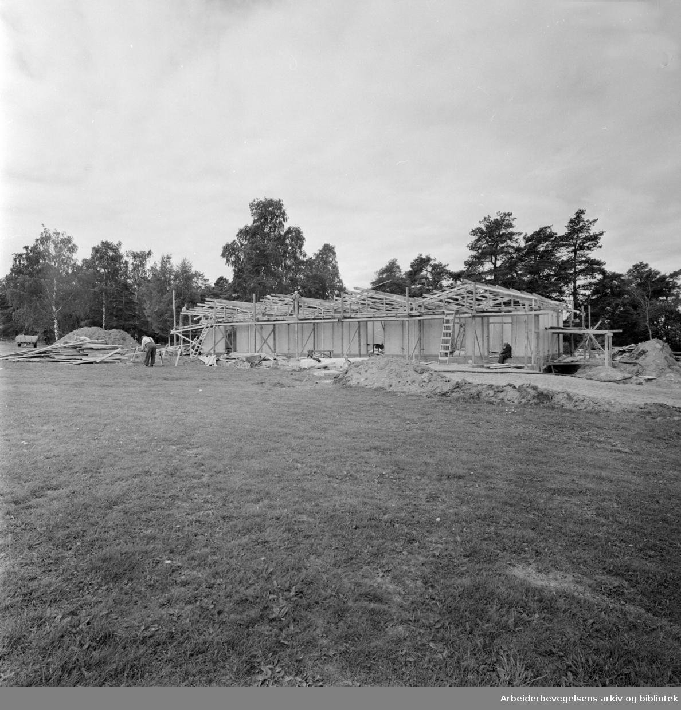 Ekeberg Campingplass. Juni 1965